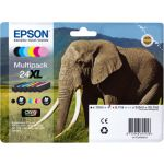 Epson Multipack XL Claria Photo HD BK/C/M/Y/LC/LM T 243   T 2438