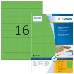 Herma Coloured Labels green 4259 100 Sheets 1600 pcs.      105X37