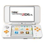 Nintendo 2DS XL white + orange