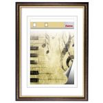 Hama Idaho brown 40x50 Wooden Frame 64517