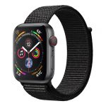 Apple Watch Series 4 GPS Cell 44mm Grey Alu Black Loop
