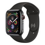 Apple Watch Series 4 GPS Cell 44mm Black Steel Black Band