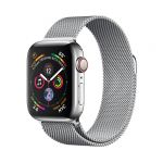 Apple Watch Series 4 GPS Cell 40mm Steel Milanese Loop