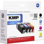 KMP C107PIXV Multipack comp. to Canon PGI-570/CLI-571 XL C/M/Y