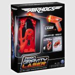 Air Hogs , Zero Gravity Laser, Laser-Guided Real Wall Climbing Race Car, Red